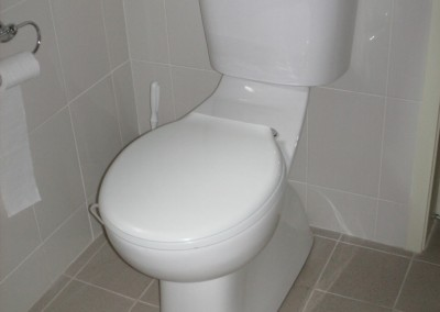 Raised height WC