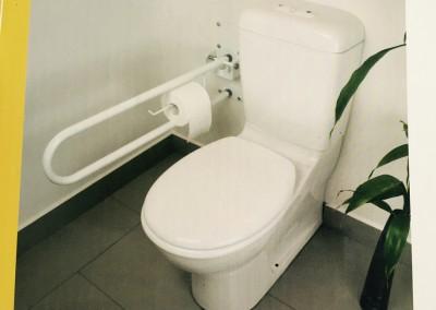 WC Folding Rail